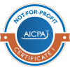 AICPA Not-for-profit Certificate I Badge